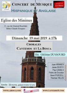 Concert à l'église des Minimes